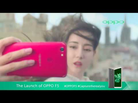 The OPPO F5 Official launch in Malaysia