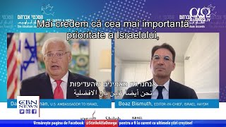 David Friedman: Oprirea procesului de extindere a suveranității e temporară | Știre Alfa Omega TV