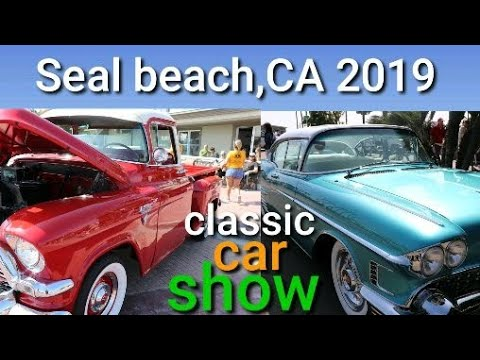 Seal beach classic car show 2019