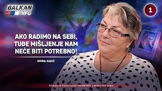 INTERVJU: Divna Gagić - Ako radimo na sebi onda nam tuđe mišljenje neće biti bitno! (10.10.2019)