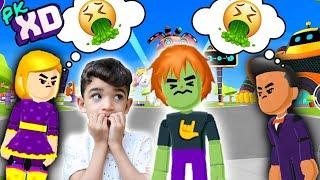 O MENINO QUE NÃO TINHA AMIGOS na CIDADE  do PK XD - GAMEPLAY -  Família Rocha Games