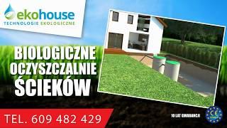 Eko House Technologie Ekologiczne - przydomowe oczyszczalnie ścieków