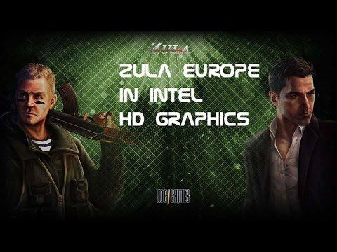 Zula europe in Intel hd graphics