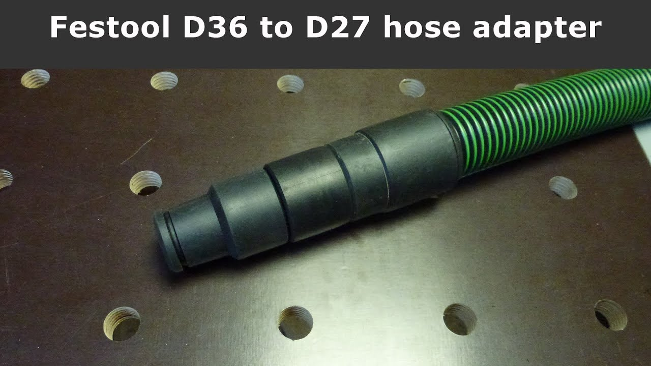 Festool Anschlussmuffe Antistatik D 36//32 DM-AS//CT