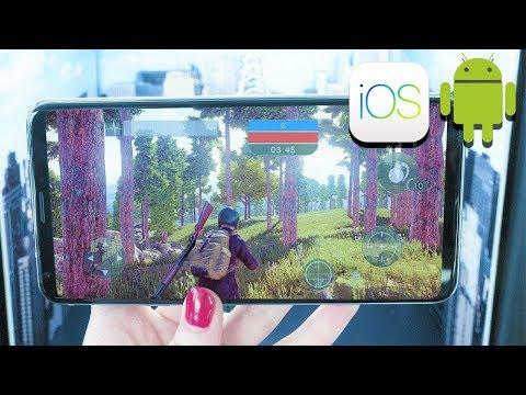 10 JEUX BATTLE ROYALE comme FORTNITE & PUBG sur Android & iOS