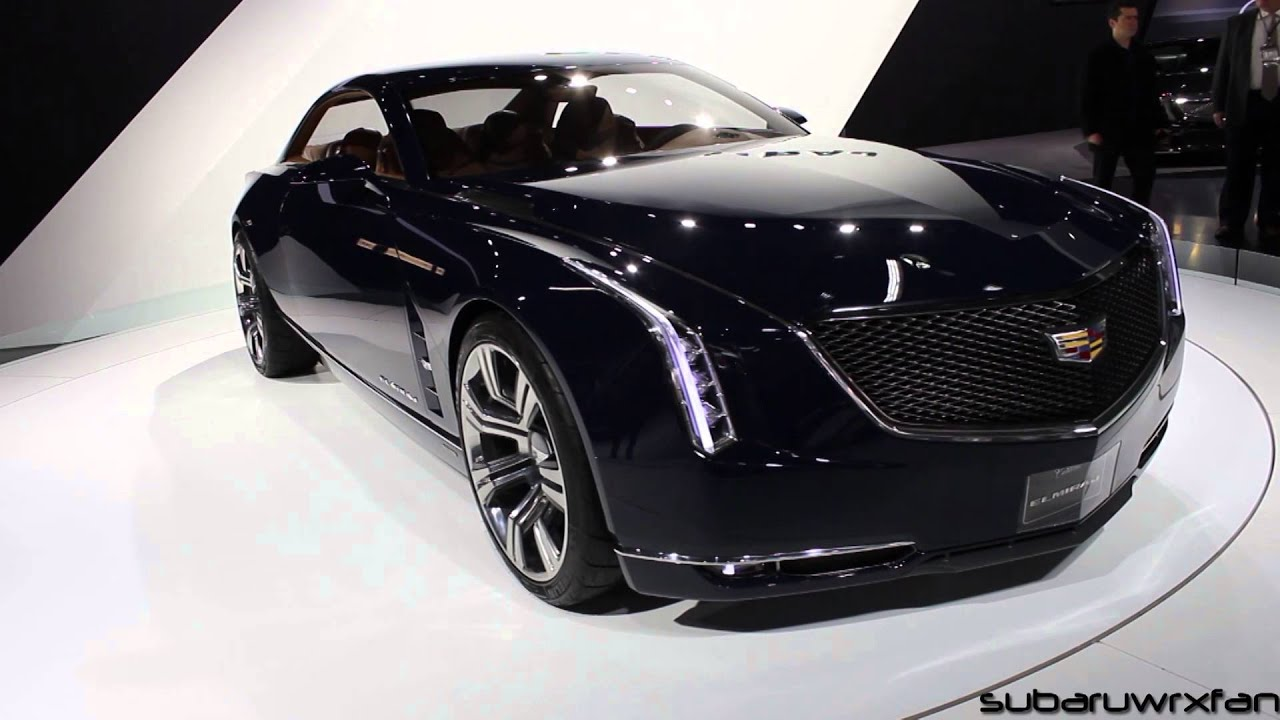 Cadillac Elmiraj Design and Discussion: Detroit 2014 - YouTube