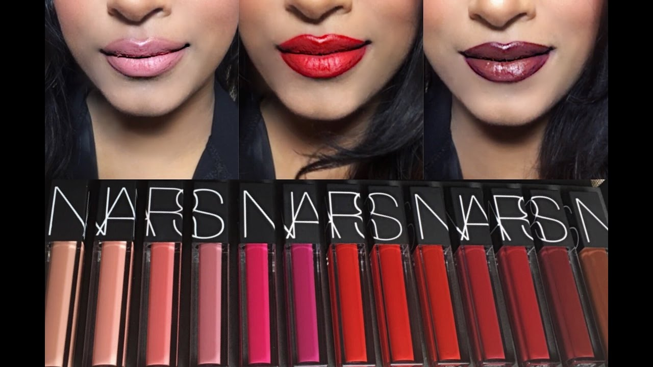 NARS Vault Nail Polishes | Review & Swatches - YouTube