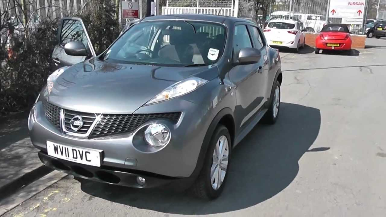 Wv11dvc Used Nissan Juke Acenta Premium In Grey At Wessex