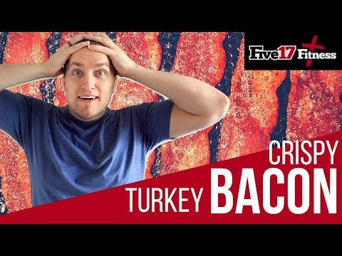 How to make turkey bacon crispy in microwave