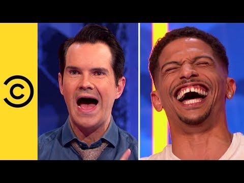 Jimmy Carr Gets A Scare From The 'Taxman' | Your Face Or Mine