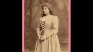 """Nellie Melba 1904 Verdi (1813-1901) """"Caro nome"""" from Rigoletto"""