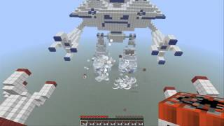 Minecraft custom maps ep.2 Robot wars