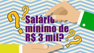 Dieese: mínimo necessário seria de R$ 3.811
