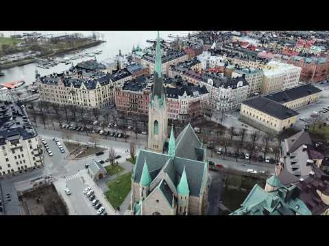"""[4k] """"Wake Me Up"""" Avicii by Oscars Church for Tim Bergling where he grew up in Stockholm, Sweden"""