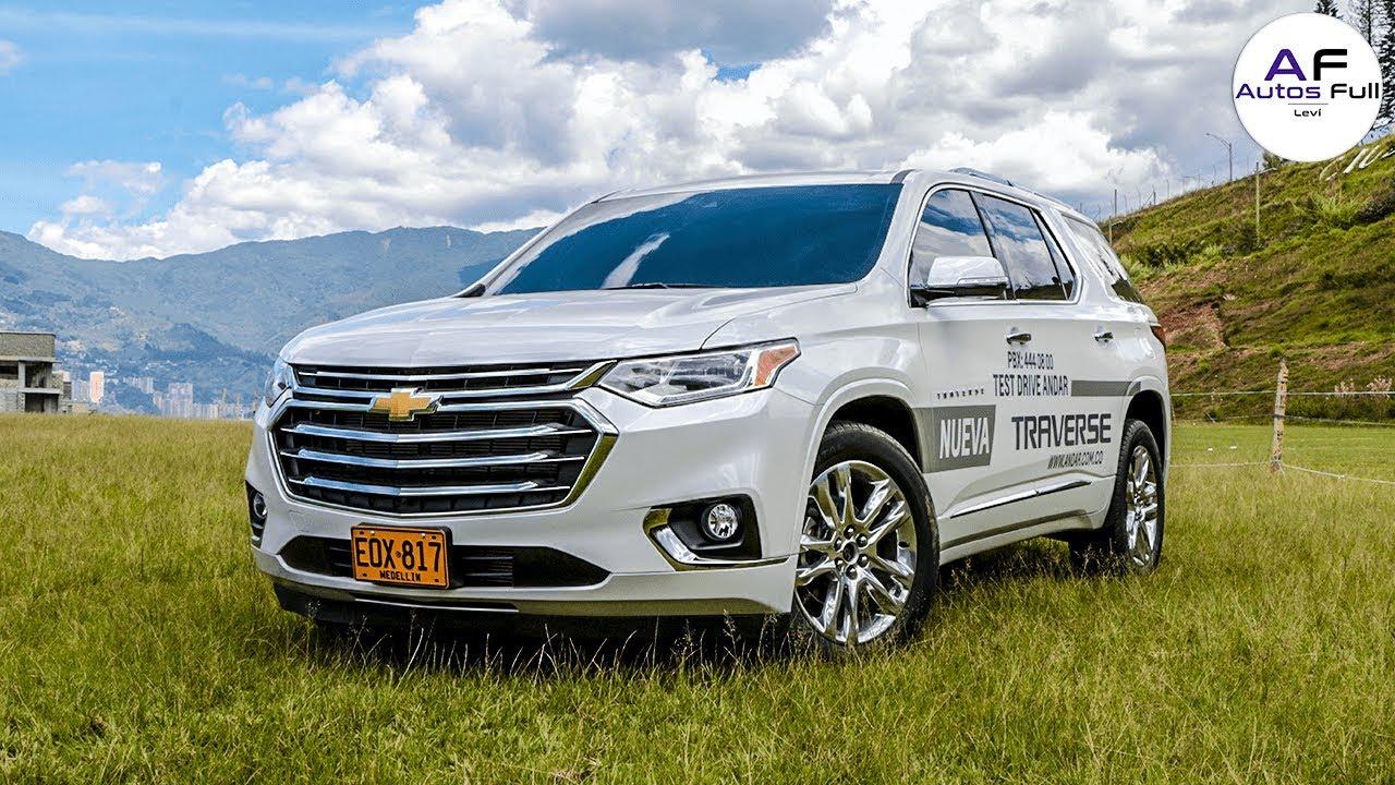 Chevrolet Traverse 2020 Revision Completa La Suv Para Familias Grandes Youtube
