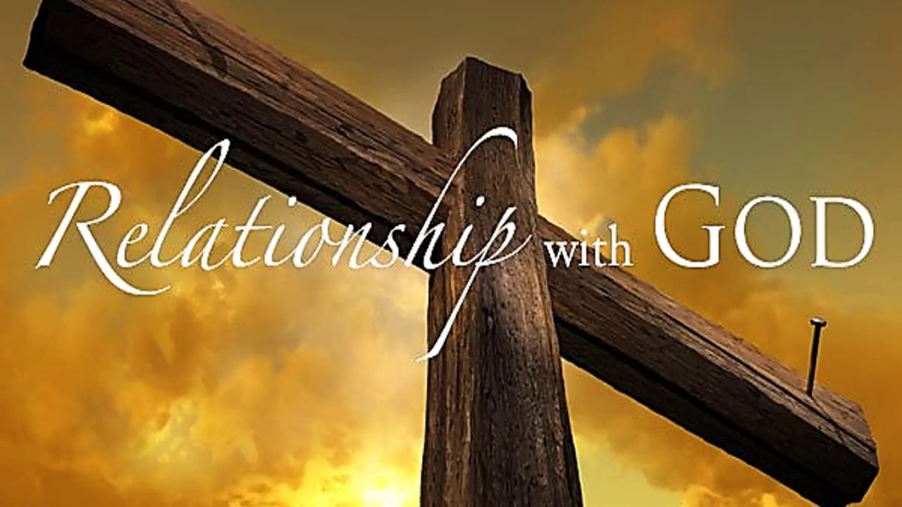 "Free PowerPoint Sermon: ""Relationship with God"" :"
