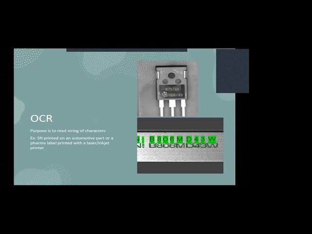 研讨会机器视觉 - 第1部分