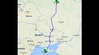 Поездка на машине из Севастополя (Крым) в Москву через Украину(, 2013-09-23T06:09:51.000Z)