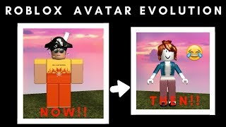 My Roblox Avatar Evolution (4 years of playing Roblox!)