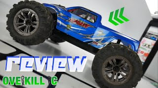 REVIEW of the Hosim 9130 SPIRIT 4x4 RTR R/C Monster Truck | My Unbiased Thoughts | Overkill RC