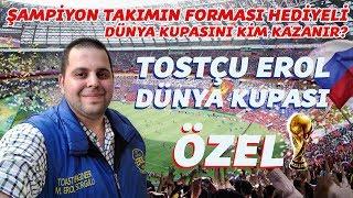 Tostçu Erol Dünya Kupası (ÖZEL) / World Cup 2018 #çekilişvar