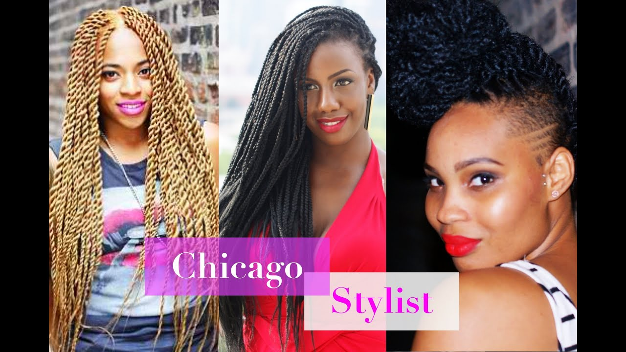 chicago marley twists, havana twists, senegalese twists, chicago
