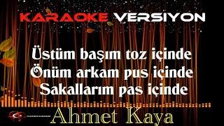 Ahmet Kaya - Nerden Bileceksiniz - KARAOKE Cover müzik