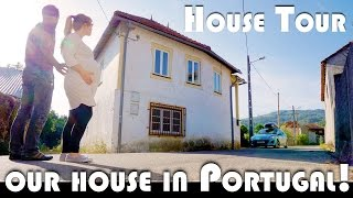 HOUSE TOUR - OUR NEW HOUSE IN PORTUGAL! - MOVING TO PORTUGAL DAILY VLOG (ADITL EP400)