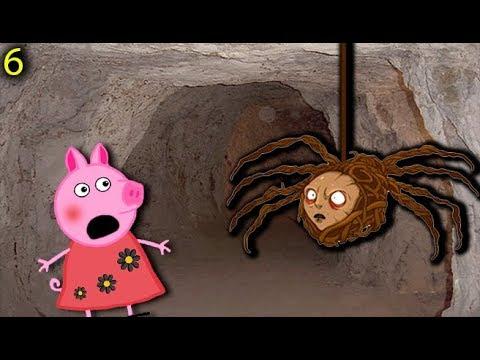 Мультики Свинка Пеппа на русском peppa pig 6 ПОДЗЕМЕЛЬЕ Мультфильмы для детей свинка пеппа новые - Видео онлайн