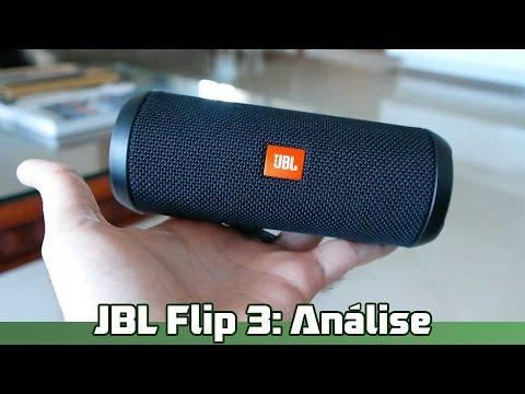 JBL Flip 3 (caixa de som bluetooth): Análise...