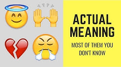 When to Use Your Favourite Emoji and Their Meaning