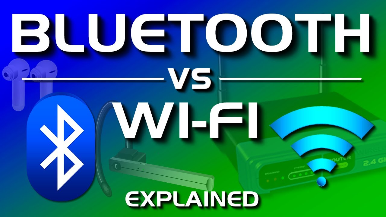 Bluetooth vs WiFi - What's the difference?