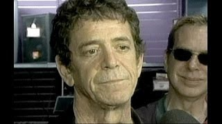 Lou Reed, defiant, grateful punk till death