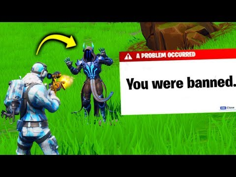 I BANNED my stream SNIPER in fortnite..