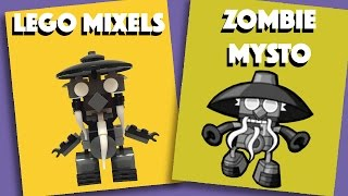 LEGO Mixels - Zombie Mysto - Stop Motion Build (How to Build)
