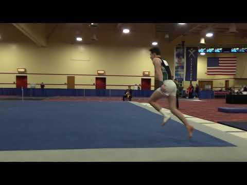 Tyler Rockwood - Floor Exercise - 2019 Winter Cup Junior Prelims