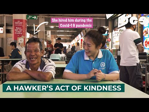 Facing COVID-19: A Hawker's Act Of Kindness