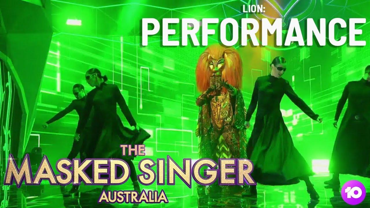 Lion Performs: Bad Guy   Season 1 Ep 3   The Masked Singer ...
