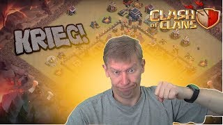 Live Clankrieg in 2 Clans Clash of Clans deutsch/german COC
