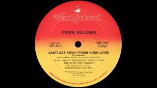 CAROL WILLIAMS - Can