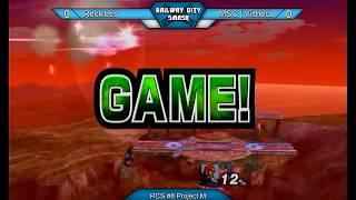 Baixar RCS #8 Project M - MSC | Vishera (Ganon) vs Reckless (Sheik, Fox)