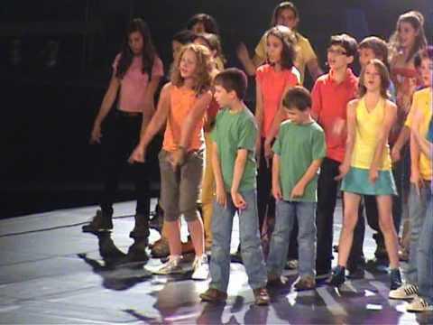 Famous musical kids Cantat Utrecht 2009