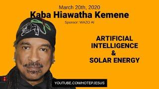 Kaba Hiawatha Kamene - Intro to Artificial Intelligence & Solar Power