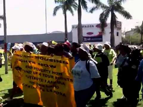 Rural womens movement arrives at occuptcop17