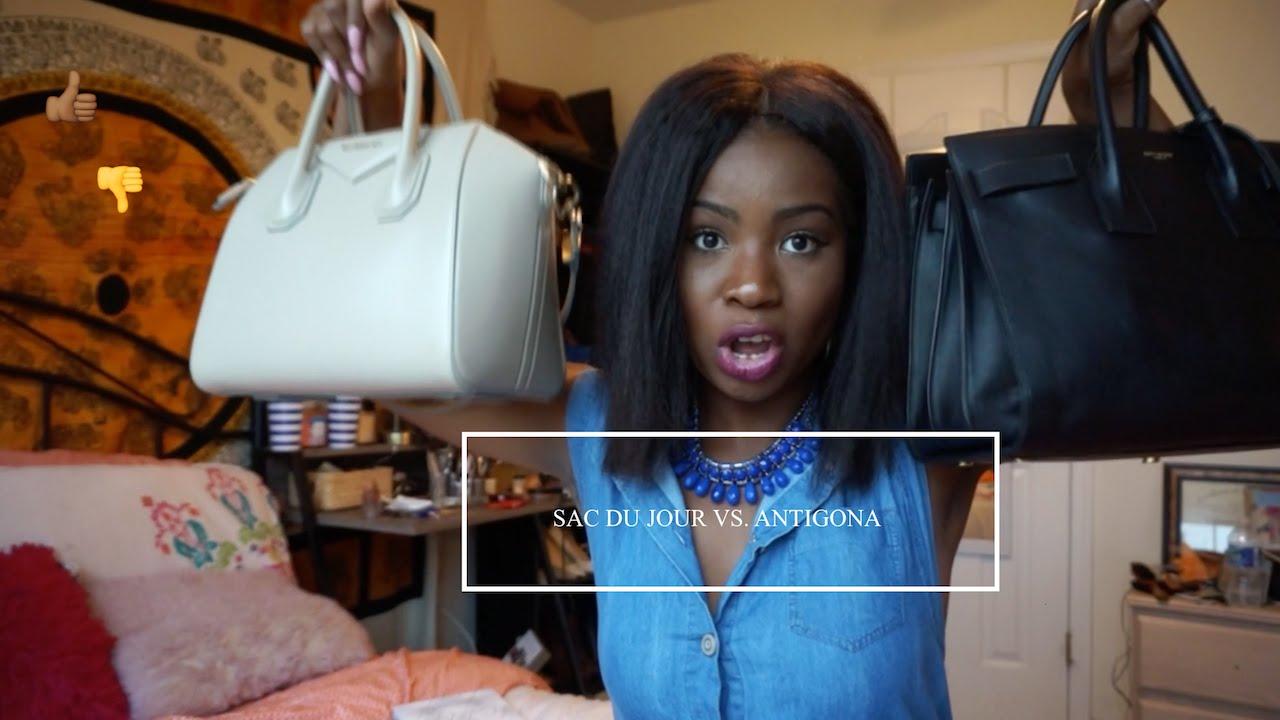 Givenchy Youtube Saint Antigona Laurent Tote Vs Jour Sac De w7fxXfqPHz