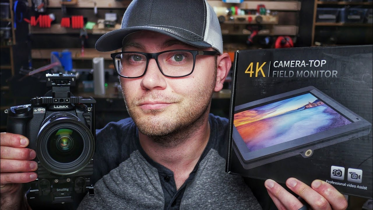 4K Monitor Unboxing and Camera Rigging LIVE! - YouTube