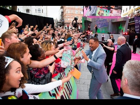 Suicide Squad – European Premiere Live! Will Smith, Margot Robbie + more...