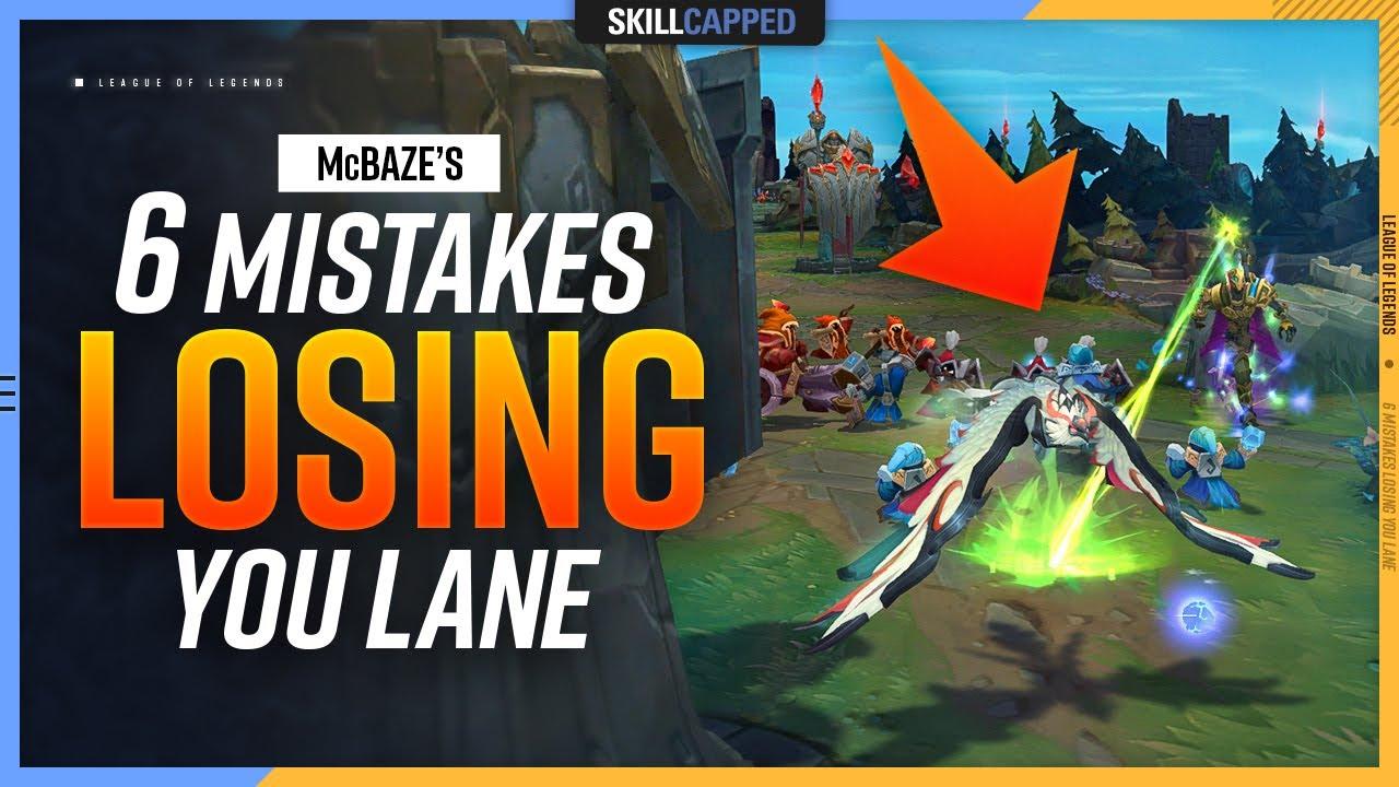 Download McBaze's 6 Low Elo MISTAKES Losing YOU Lane - League of Legends