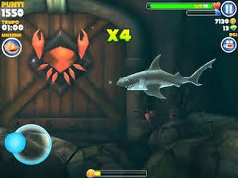 Como matar el cangrejo gigante de hungry shark evolution