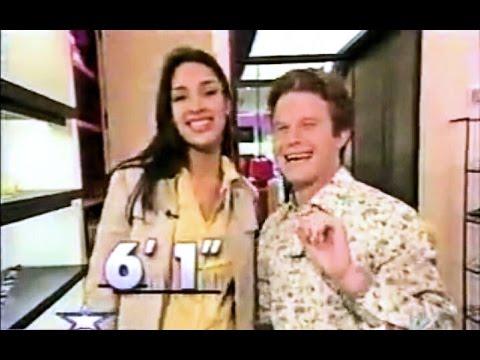 Amelia Vega & Billy Bush - Height Comparison